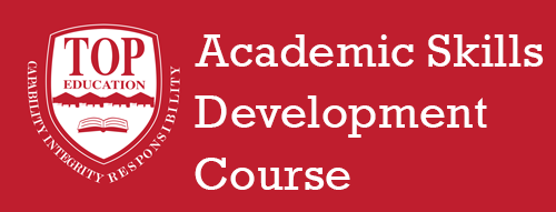 Academic Skills Development Course
