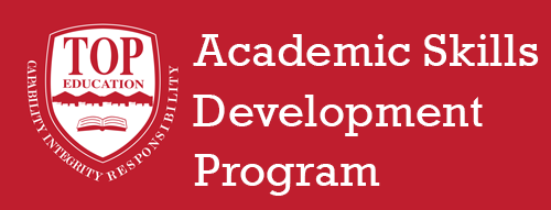 Academic Skills Development Program